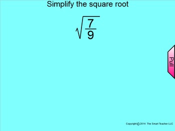 How I Teach Dividing Square Roots