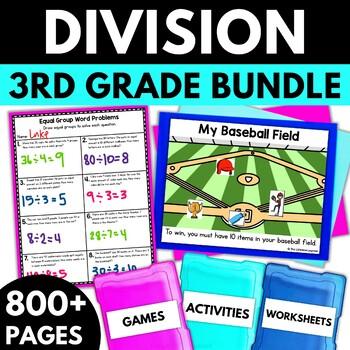 Division (Strategies to Solve) BUNDLE!