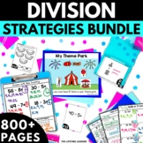 Division Strategies BUNDLE! - Division Worksheets Activities Games