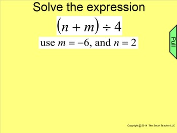 How I Teach Evaluating Expressions