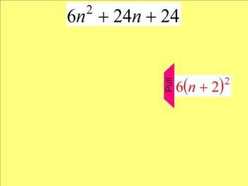 How I Teach Factoring Polynomials (Special Cases)