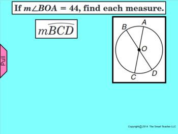 How I Teach Finding Arc Lengths Part 1