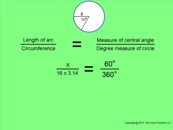 How I Teach Finding Arc Lengths Part 2