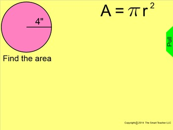 How I Teach Finding the Area of a Circle