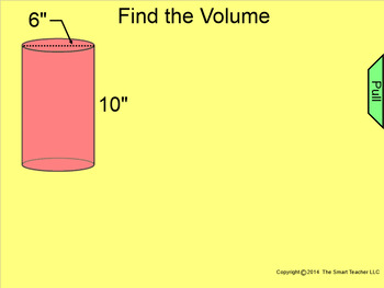 How I Teach Finding the Volume of a Cylinder Using the Smartboard