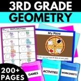 Geometry Bundle - Geometry Worksheets Games Activities