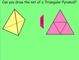 How I Teach Identifying The Nets Of 3D Solids