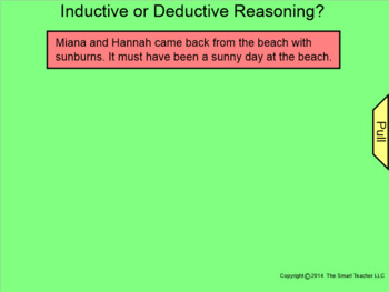 How I Teach Inductive & Deductive Reasoning