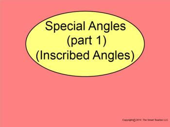 How I Teach Inscribed Angles