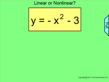 How I Teach Linear and Nonlinear Functions