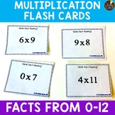 Multiplication Facts Flash Cards - Multiplication Fact Fluency