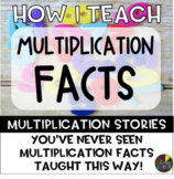 Multiplication Facts Using Multiplication Stories - Multip