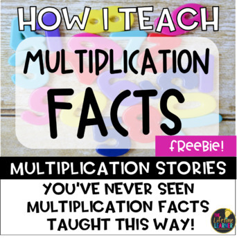 Multiplication Facts: Multiplication Stories FREEBIE (0-1 Facts)