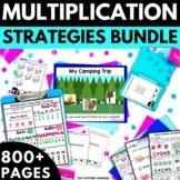 Multiplication Strategies BUNDLE! - Multiplication Worksheets Games Activities
