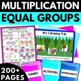Multiplication Using Equal Groups - Multiplication Activities