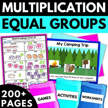 Multiplication Using Equal Groupings