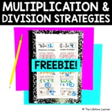 Multiplication and Division Strategies FREEBIE
