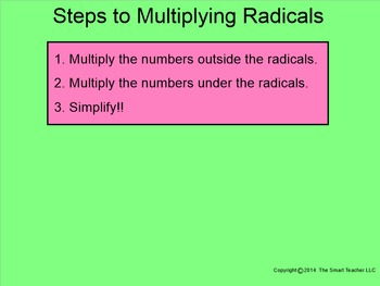 How I Teach Multiplying Square Roots