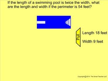 How I Teach Perimeter of a Rectangle (Algebra Style)