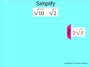 How I Teach Simplifying Radicals Part 1