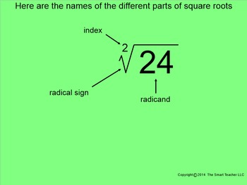 How I Teach Simplifying Square Roots