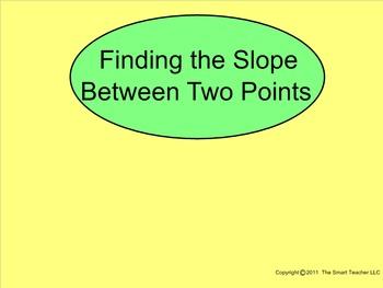How I Teach Slope Part 6