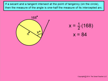 How I Teach Special Angles Part 2 (intersecting secants and tangents)