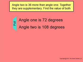 How I Teach Supplementary Angles