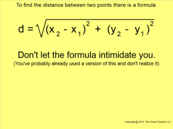 How I Teach The Distance Formula