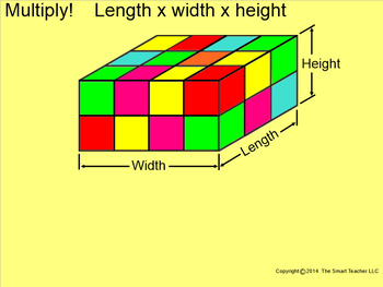 How I Teach Volume of a Rectangular Prism Using the Smartboard