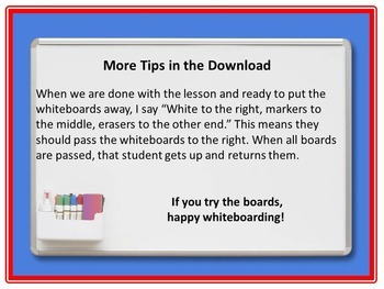 Using Whiteboards to Increase Motivation in Secondary Students