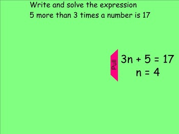 How I Teach Writing Algebraic Expressions