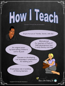 How I Teach, a Motivational and Interactive Staff-Development Poem and Song