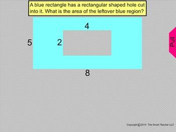 How I Teach area of a shape inside a shape