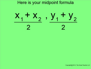How I Teach the Midpoint Formula