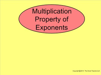How I Teach the Multiplication Property of Exponents