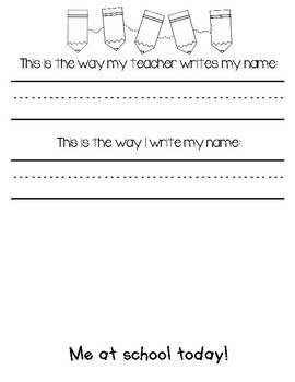 Quick Name Writing Assessment Tool