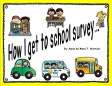 How I get to School - parent survey