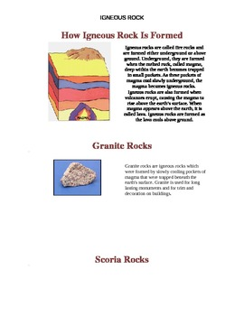 How Igneous Rock Is Formed