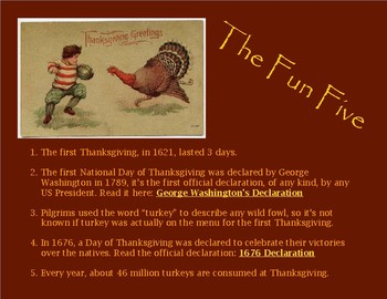 How It Happened: Thanksgiving Edition