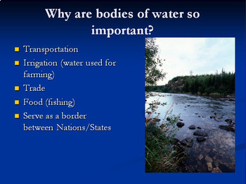 How Landforms and Climate Affect Civilizations -- PowerPoint and Notes