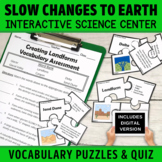 Slow Changes to Earth's Surface Create Landforms | Vocabul