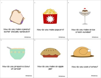 """How??  Language Activity Pack for Answering """"How?"""" Questions"""