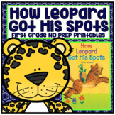Distance Learning How Leopard Got His Spots First Grade NO