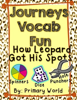 How Leopard Got His Spots First Grade Unit 3 Lesson 12 Vocabulary