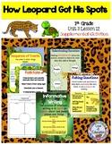 How Leopard Got His Spots (Journeys 1st grade unit 3 lesson 12)