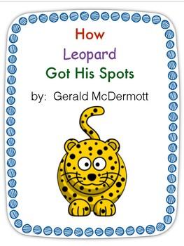 How Leopard Got His Spots-Journeys Week 7 story