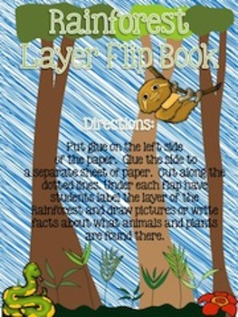 All About the Rain Forest {Journeys First Grade Science Supplement}