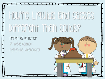 How Liquids & Gasses Are Different Than Solids