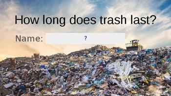 How Long Does Trash Last?